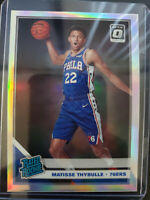 2019-20 Donruss Optic #192 Matisse Thybulle Rated Rookie Silver Holo RC 76ers