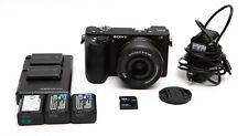 Sony Alpha A6500 24.2MP Digital Camera Kit + 16-50mm Lens & 128GB ** READ NOTES