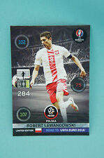 Panini Adrenalyn XL Road to Uefa Euro 2016 Robert Lewandowski Limited Edition