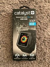 Catalyst Waterproof Apple Watch 42mm Case for Series 3 & 2 Black NEW IN BOX