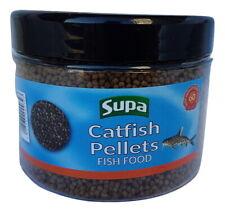 Supa Catfish Pellets Fish Food 6 oz, fast sinking pellet for bottom feeding fish