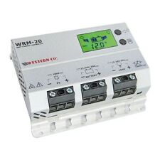 Regulador/Controlador de carga solar MPPT occidental WRM20 (20 A 12/24V) Pantalla Lcd