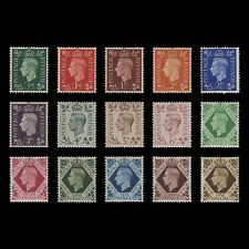 Great Britain 1937 (MNH) King George VI Definitives