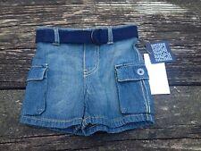 NWT Ralph Lauren Boys Denim Shorts with Belt Size 3 Months