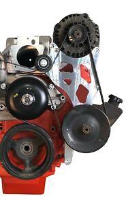 LS Alternator and Power Steering Bracket for Truck Spacing LQ LS2 LS3 LS6 Vortec