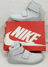 NIKE Marxman PRM Mens Sneakers Basketball Trainers Hi Top Shoes Gray NIB