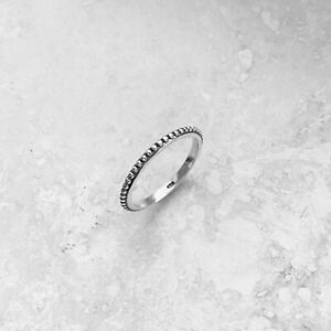 Sterling Silver Bali Design Ring, Stackable Ring, Boho Ring, Silver Ring