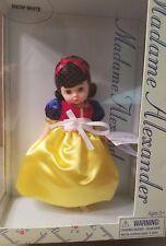 "MADAME ALEXANDER 8"" Doll Snow White 13800 NIB New in Box NRFB"