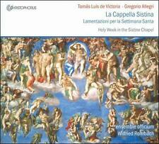 Tomás Luis de Victoria La Cappella Sistina - Lamentazioni per la Settima Santa,