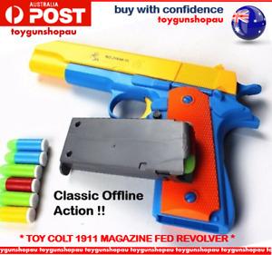 COLT BEST KIDS TOY GUN M1911 MAGAZINE TOY GUN KIDS SAFE TOY CLASSIC COLT PISTOL