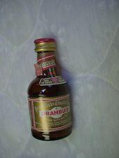 Drambuie Prince Charles Edward's Liqueur Glass Mini Bottle/50 ML/Empty