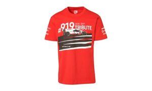 Porsche 919 Tribute Shirt T-shirt S M L XL XXL 3XL Red Winning Le Mans Champions