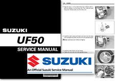 Suzuki UF50 Estilete Scooter Workshop Service Shop Manual 2000 onwards UF 50