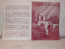 "OG2809- Collectible Sheet Music (1958)  ""Serenade of the Bells"""
