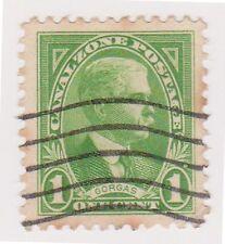 (CZ-18) 1928 Canal Zone 1c GEN GORGAS (F)