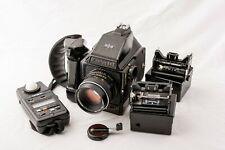 Mamiya 645J Medium Format Camera Package w/Minolta Meter