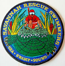 United States Coast Guard patch Savannah Rescue Swimmers Sea Swamp, Sound #1018
