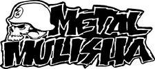 Sticker Metal Mulisha 103 - 57x26 cm