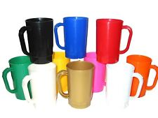 40 1 Pint Beer Mugs, Steins, Mix of Colors, Made in America, Lead Free*