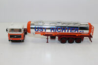 hg1158, RAR Alter Herpa LKW tank - Sattelzug Volvo UST Richter Oberhausen 1:87