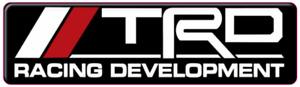 Toyota TRD Weathertech Badge