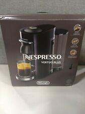 Nespresso VertuoPlus Deluxe Coffee and Espresso Machine by De'Longhi, Titan