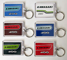 COLOUR MATCHED KAWASAKI S1 S2 S3 250 350 400 TRIPLE LIMITED EDITION KEY RINGS