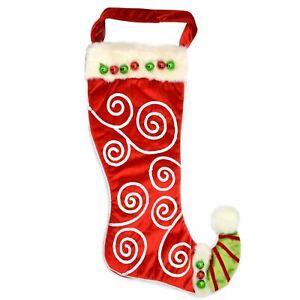 Weihnachten Traditionell Designer Santa Strümpfe Socke Garten Ereignis Angebot