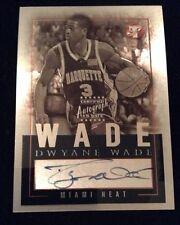 2003/04 Topps Pristine Dwayne Wade 10 Auto Personal Endorsements Heat