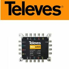 More details for televes nevoswitch 5 inputs x 5×5 4/4db splitter – 714905-  open box