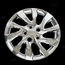 "Fits 10-13 Hyundai Elantra 16"" Chrome Hub Caps Full Wheel Rim Covers Set of Four"