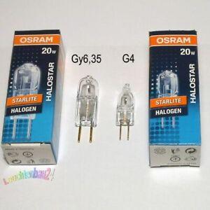 Osram Halostar 64427 S 20W 12V GY6, 35 Clear