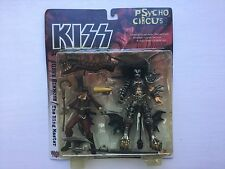 "Gene Simmons KISS Pyscho Circus Ring Master 8"" Action Figure Figurine Toy Demon"