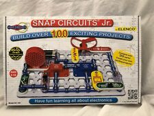 Snap Circuits Jr. SC-100 Electronics Exploration Kit | Over 100 STEM Projects...