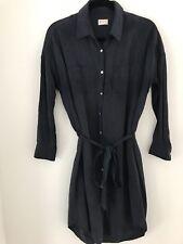 Gorman Silk/Linen Shirt Dress SzM