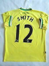 Smith Norwich City England Jersey Home Size L Mens Shirt Football Errea ig93
