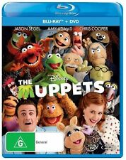 The Muppets (Blu-ray, 2012, 2-Disc Set)