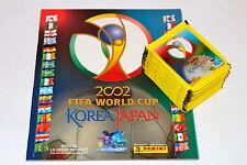 Panini WC WM Korea Japan 2002 - LEERALBUM EMPTY ALBUM + 50 TÜTEN PACKETS SOBRES