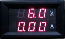 DC100V (30A) Dual LED Digital Voltmeter Ammeter (5 Wires) (Mono) (DC 4.5-30V)