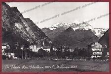 VERCELLI RIVA VALDOBBIA 63 VALSESIA - MONTE ROSA Cartolina FOTOGRAF. viagg. 1955