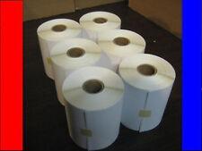 6 4x3 Zebra Direct Thermal Rolls 500/3,000 Labels