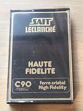 Tape Cassette K7  90 French Saft Leclanché Haute Fidélité C 90 Factory Sealed