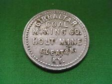 Kentucky Coal Scrip 50¢ Gibraltar Coal Mining Co.-Cleaton-KY-Muhlenberg County