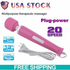 2017 Massager Vibrating Powerful Massage Motor 20 Speed Therapeutic