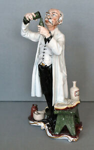 Capodimonte Figurine - The Apothecary
