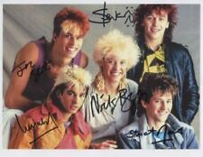 Kajagoogoo (Band) Fully Signed 8 x 10 Photo Genuine In Person Limahl Nick Beggs