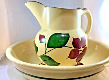 USA pottery Large bowl and pitcher