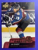 2002-03 Upper Deck Gifted Greats #GG3 Joe Sakic Colorado Avalanche 1st Round 87