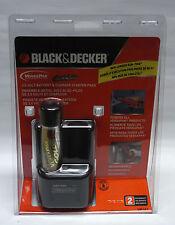 Genuine Black & Decker VP110 gold VersaPak battery + dual port charger Versa Pak