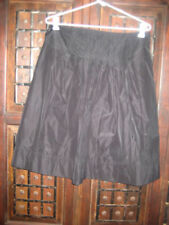 Jacqui E Pleated Hand-wash Only Regular Skirts for Women
